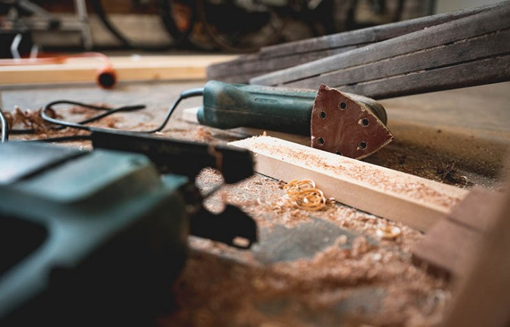 photography of black power tool | how to build a bunker