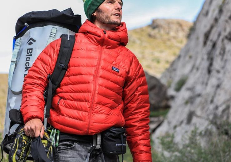 man in camping clothes | ultralight backpacking checklist
