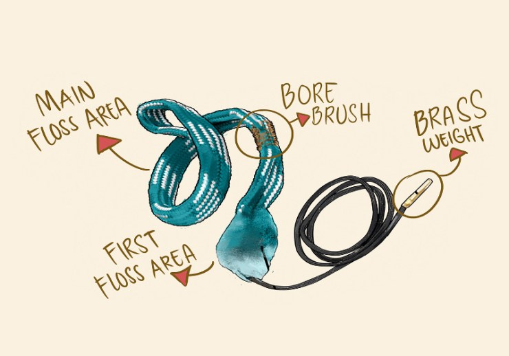 parts of a bore snake | bore snake | orig