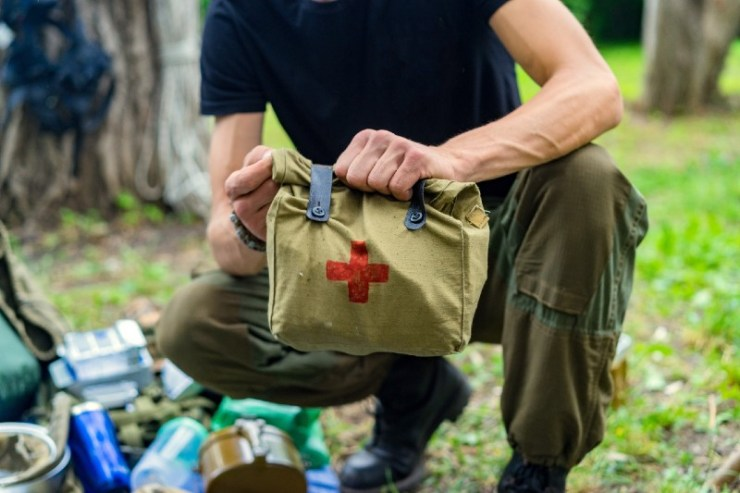 Military Medical Aid, first aid kit-IFAK