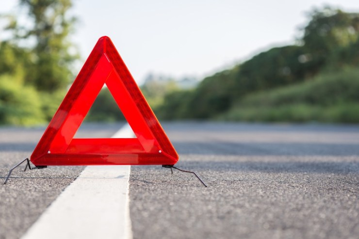 Red Emergency Stop Sign | Car Emergency Kit