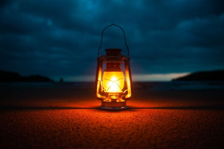 Lighted Kerosene Lantern | How To Survive Without Electricity