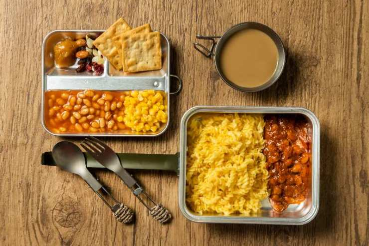 Military Combat Ration Food Kit-DIY MRE'S