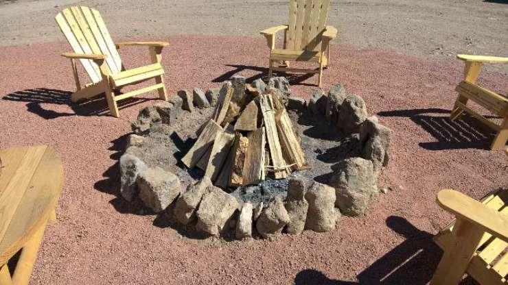 Stone Campfire Pit-campfire