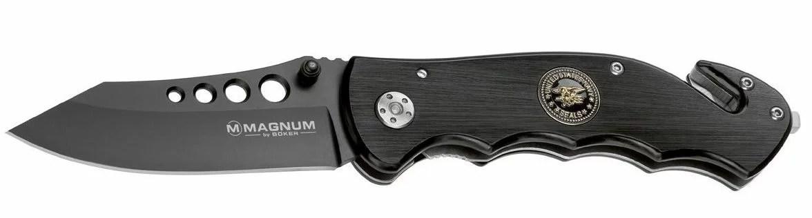 Böker Messer Magnum USN Seals Rettungsmesser