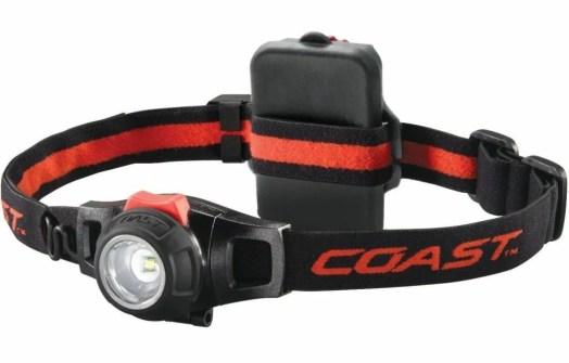 Kraftmax Coast HL7R - Fokussierbare LED Kopflampe / Hochleistungs Akku Stirnlampe - aufladbar