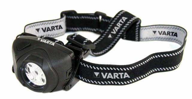 Varta 5 x 5mm LEDs Indestructible Head Light