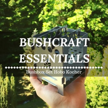Bushcraft Essentials Bushbox Set Hobo Kocher im Test
