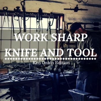 Profi-Schärfgerät - WORK SHARP Knife and Tool Sharpener Ken Onion