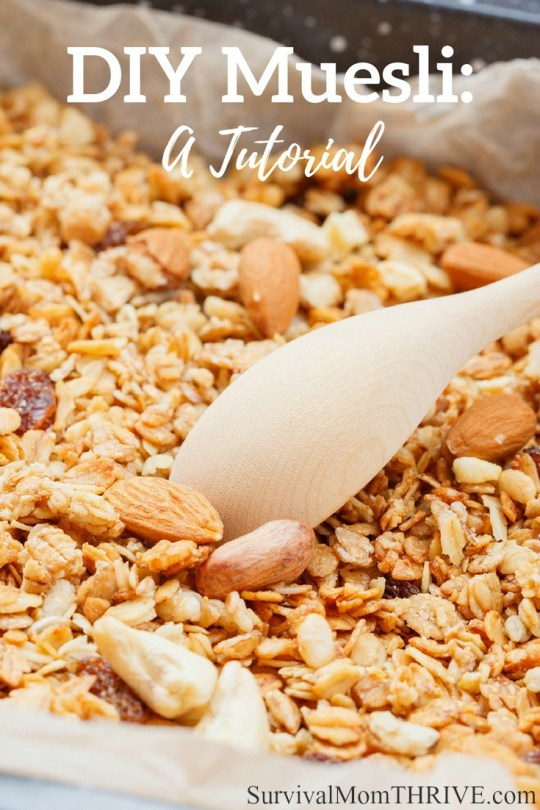 DIY Muesli: A Tutorial via Survival Mom Thrive