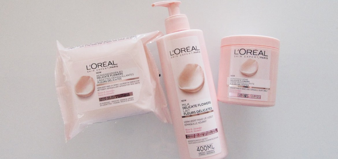 L'oreal reiniging header