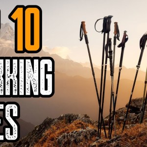 TOP 10 BEST TREKKING POLES 2021