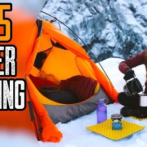 Top 5 Best Winter Camping Gear & Gadgets 2021