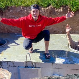 Turned Our $10,000 Underground Bunker into a Pool