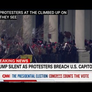 PROTESTERS BREACH AND STORM US CAPITAL!! CHAOS IN WASHINGTON..