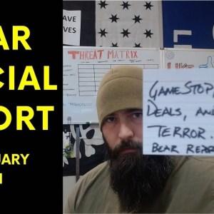GameStop, Green Deals & Domestic Terror - Bear Report 1 FEB 21
