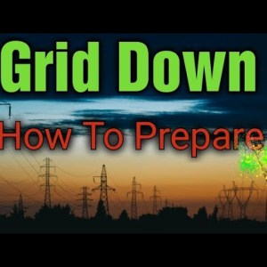 Prepper Preparing For EMP Strike, Grid Down Survival