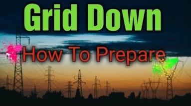 Prepper Preparing For EMP Strike, Grid Down Survival