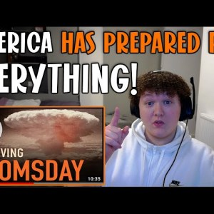 British Guy Reacts To How the US Government Will Survive Doomsday-They have prepared For EVERYTHING!