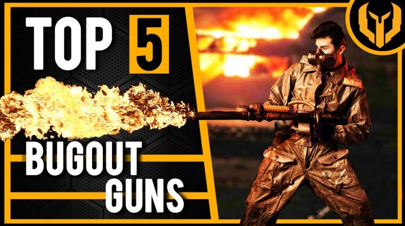 5 Best Survival Guns For Prepping Your SHTF Bug Out Bag