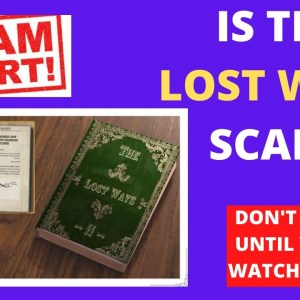 The Lost Ways Reviews ⚠️BEWARE❌ Don't Buy The Lost Ways By Claude Davis Until You Watch This Video!