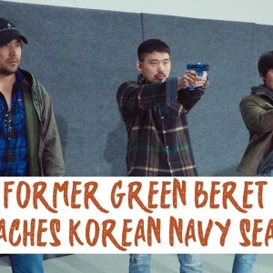Green Beret Mike Glover Shoots SIMS with REDCELL Korean Navy Seals