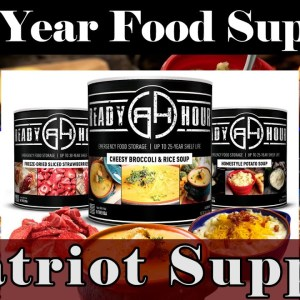 Long Term Survival Food - My Patriot - Prepare Now! 20% OFF