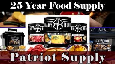 Long Term Survival Food - My Patriot - Prepare Now! 20% OFF