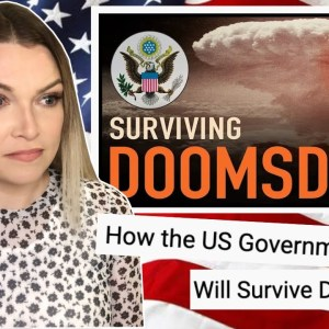 New Zealand Girl Reacts to HOW THE US GOVERNMENT WILL SURVIVE DOOMSDAY 😱😳