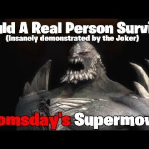 Could A Real Person Survive: Doomsday's Supermove? (Injustice Gods Among Us)
