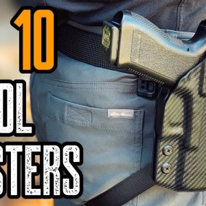Top 10 Best Concealed Carry Holsters For Appendix Carry