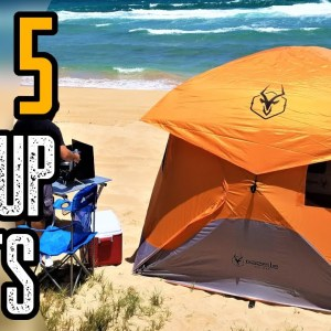 TOP 5 BEST POP-UP TENTS FOR CAMPING 2021