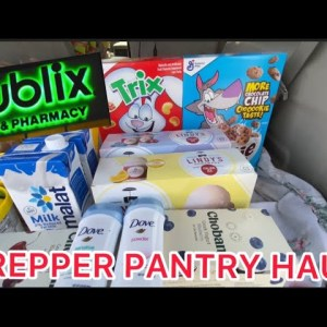 Emergency PREPPER Pantry | 3 Month Emergency Food Preparing for Fourth COVID-19 Pandemic Wave