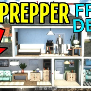 Mr Prepper - Build a Secret Bunker to Survive Doomsday! (FREE DEMO)