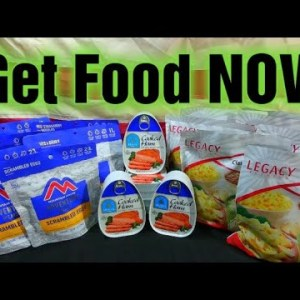 Protect Your Family, Get Food Stocked NOW