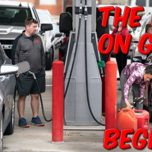 The Run On Gas Begins