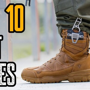 TOP 10 BEST BOOT KNIVES FOR SELF DEFENSE 2021