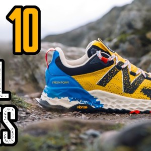 TOP 10 BEST TRAIL RUNNING SHOES 2021