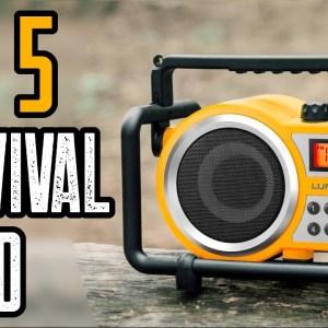Top 5 Best Emergency Weather Radios 2021