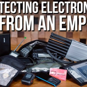 Using a Faraday Bag to Protect Electronics From An EMP