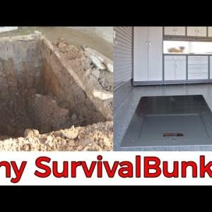 Tiny Survival Shelter Bunker