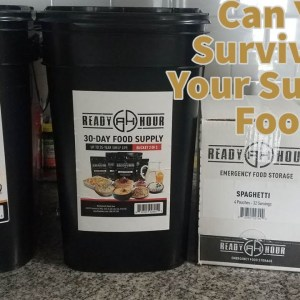 Can You SURVIVE on Your Survival Food?? Taste Testing Emergency Food
