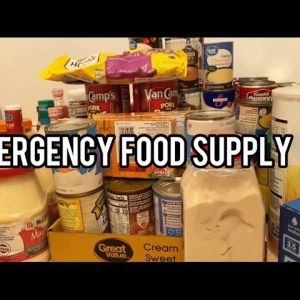 Emergency Food Supply Tips| What I am Doing In The PREPPER Pantry That I Slacked Up On