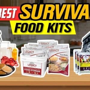 ✅ Best Survival Food Kits 👌 Top 5 Survival Food Kit Picks | 2021 Review