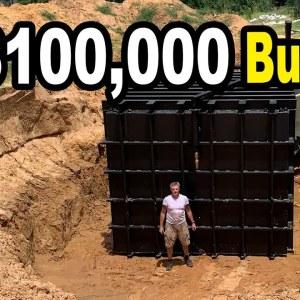Atlas 12x20 Safe Cellar - Doomsday bunker under a driveway