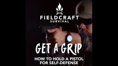 GunFighter Pistol Fundamentals: Proper Grip of a Handgun