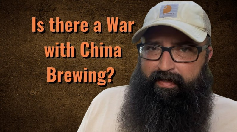 Is there a War with China brewing?