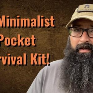 My Minimalist Pocket Survival Kit