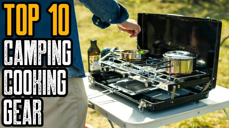 TOP 10 BEST CAMPING COOKING GEAR ON AMAZON