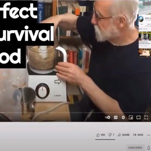 is This the Perfect Prepper Survival Food? Sven Yrvind's DIY wonder food